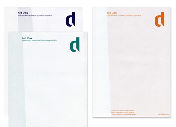 Briefpapier het Dok