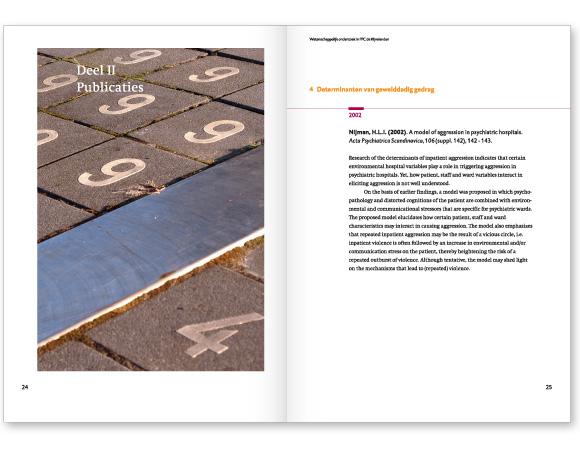 Publicatie Wetenschappelijk onderzoek in FPC de Kijvelanden