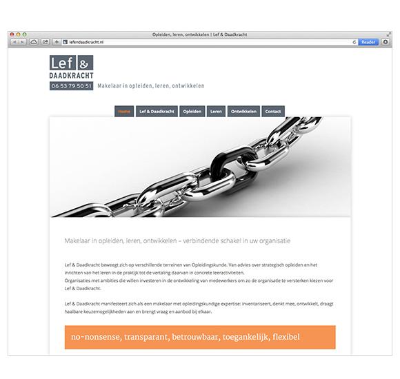 Website Lef & Daadkracht