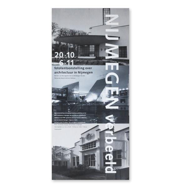 Affiche 'Architectuur in Nijmegen'